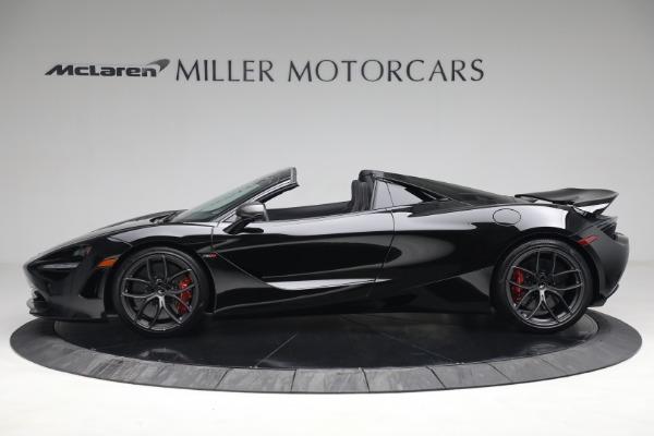New 2021 McLaren 720S Spider for sale $374,120 at McLaren Greenwich in Greenwich CT 06830 3