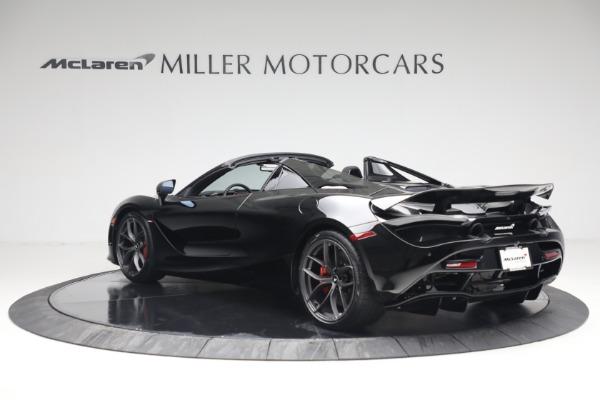 New 2021 McLaren 720S Spider for sale $374,120 at McLaren Greenwich in Greenwich CT 06830 4