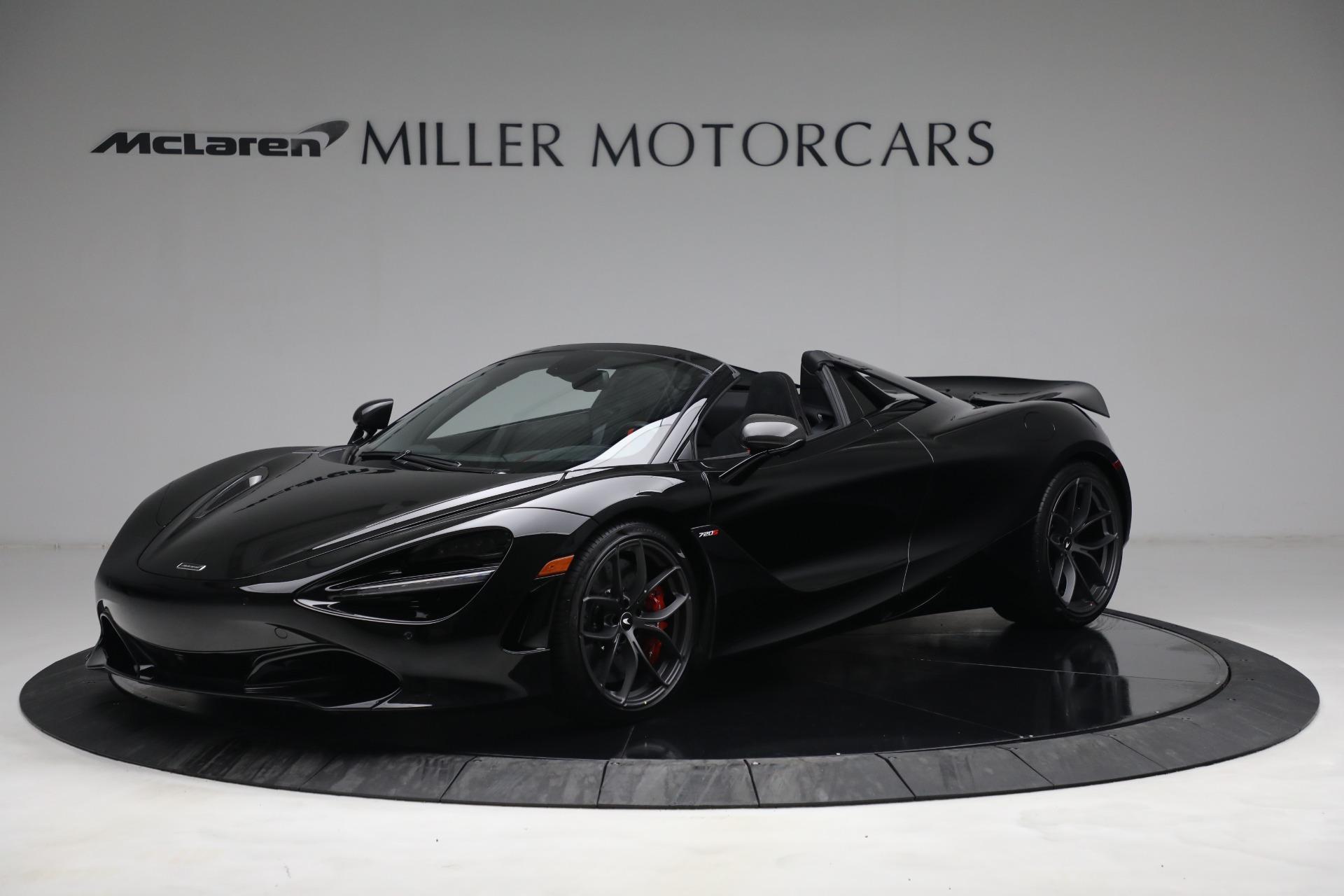 New 2021 McLaren 720S Spider for sale $374,120 at McLaren Greenwich in Greenwich CT 06830 1