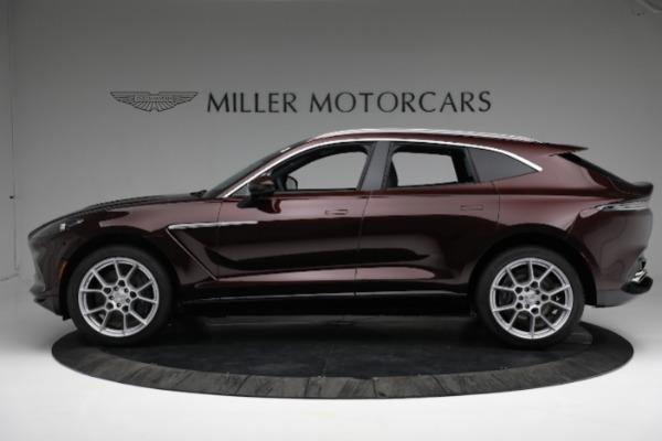 New 2021 Aston Martin DBX for sale $196,386 at McLaren Greenwich in Greenwich CT 06830 2