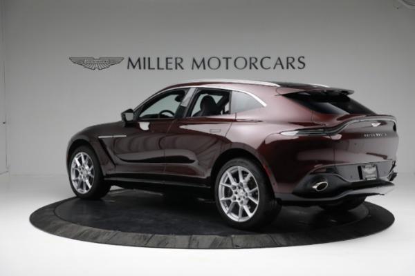 New 2021 Aston Martin DBX for sale $196,386 at McLaren Greenwich in Greenwich CT 06830 3