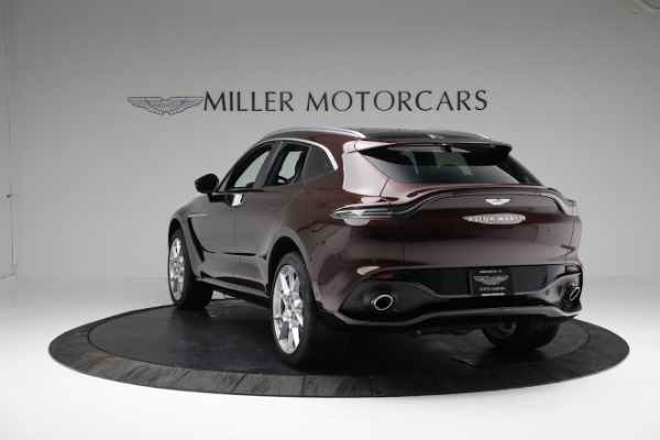 New 2021 Aston Martin DBX for sale $196,386 at McLaren Greenwich in Greenwich CT 06830 4