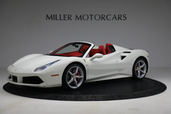 Used 2017 Ferrari 488 Spider for sale Call for price at McLaren Greenwich in Greenwich CT 06830 2