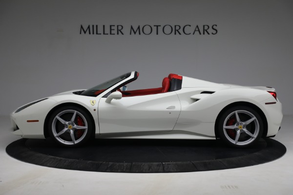 Used 2017 Ferrari 488 Spider for sale Call for price at McLaren Greenwich in Greenwich CT 06830 3