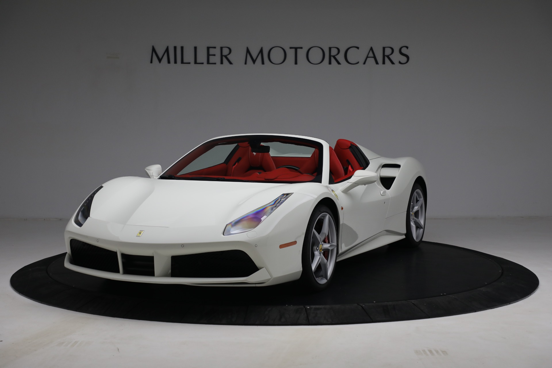 Used 2017 Ferrari 488 Spider for sale Call for price at McLaren Greenwich in Greenwich CT 06830 1
