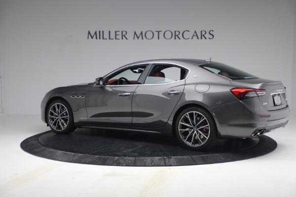 New 2021 Maserati Ghibli SQ4 GranLusso for sale Sold at McLaren Greenwich in Greenwich CT 06830 4