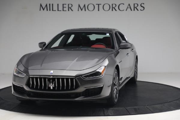 New 2021 Maserati Ghibli SQ4 GranLusso for sale Sold at McLaren Greenwich in Greenwich CT 06830 1