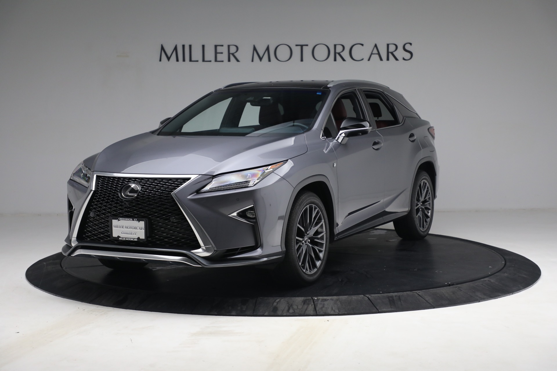 Used 2018 Lexus RX 350 F SPORT for sale $44,900 at McLaren Greenwich in Greenwich CT 06830 1