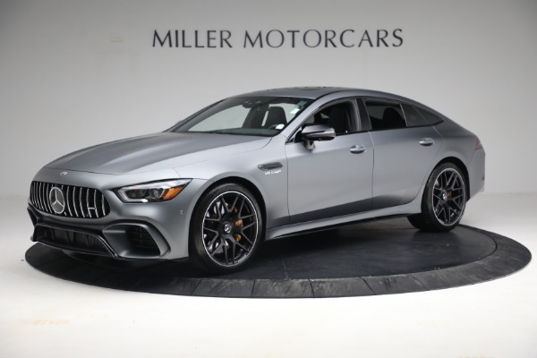 Used 2019 Mercedes-Benz AMG GT 63 for sale Call for price at McLaren Greenwich in Greenwich CT 06830 2
