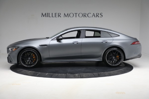 Used 2019 Mercedes-Benz AMG GT 63 for sale Call for price at McLaren Greenwich in Greenwich CT 06830 3