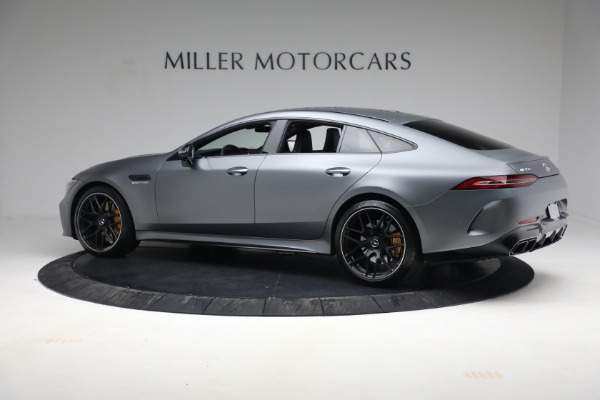 Used 2019 Mercedes-Benz AMG GT 63 for sale Call for price at McLaren Greenwich in Greenwich CT 06830 4