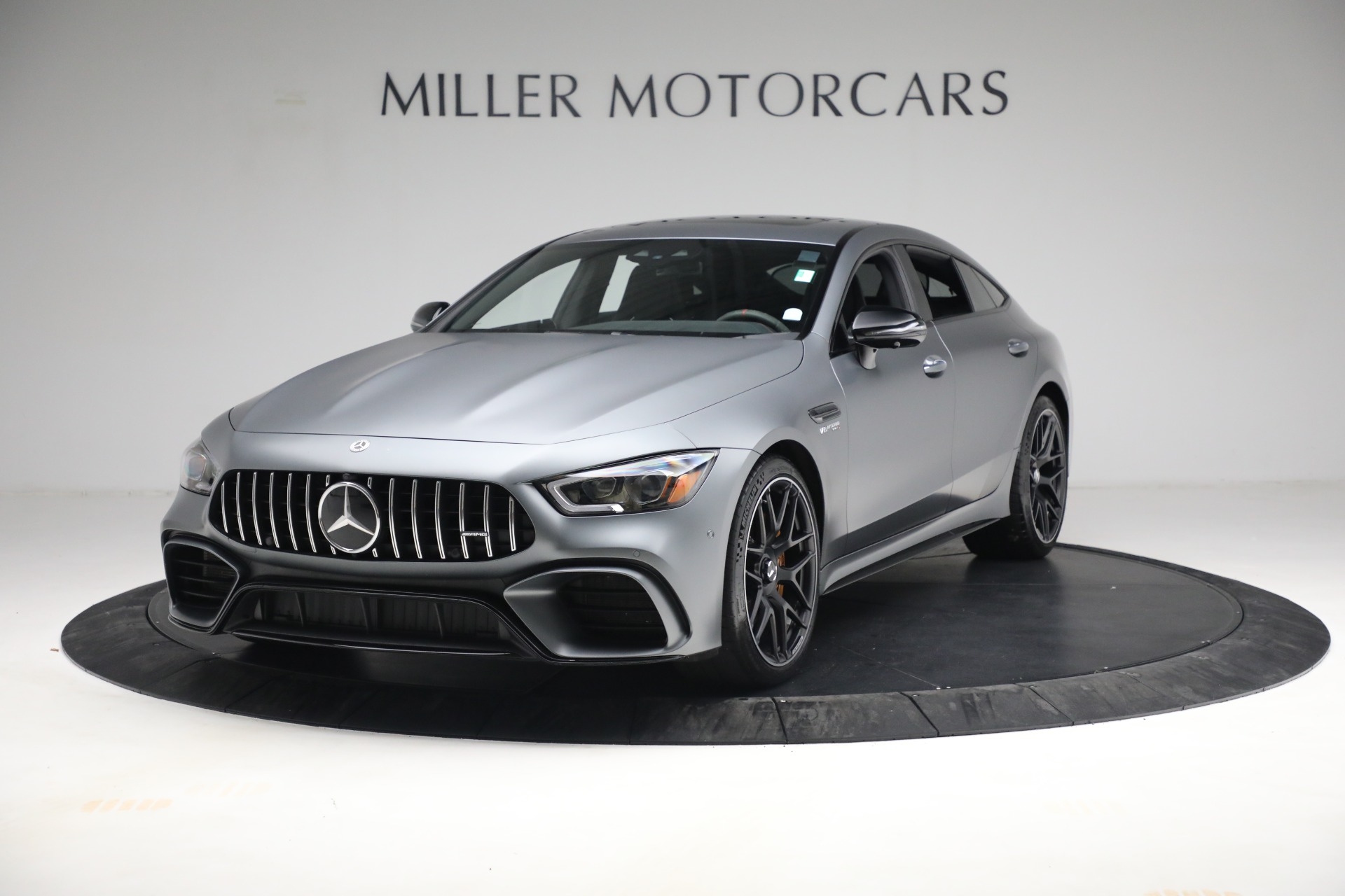 Used 2019 Mercedes-Benz AMG GT 63 for sale Call for price at McLaren Greenwich in Greenwich CT 06830 1