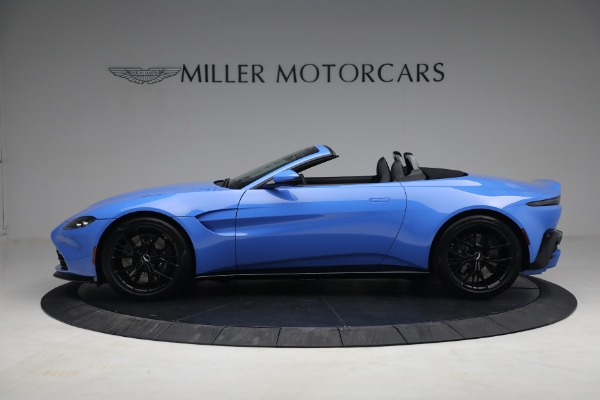 New 2021 Aston Martin Vantage Roadster for sale $186,386 at McLaren Greenwich in Greenwich CT 06830 2