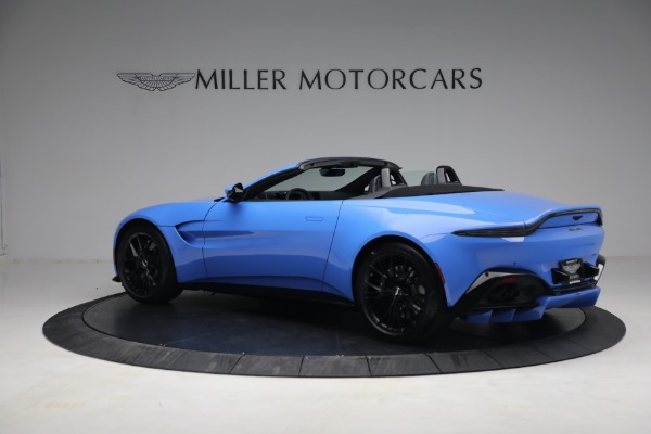 New 2021 Aston Martin Vantage Roadster for sale $186,386 at McLaren Greenwich in Greenwich CT 06830 3