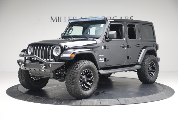 Used 2020 Jeep Wrangler Unlimited Sahara for sale Sold at McLaren Greenwich in Greenwich CT 06830 2