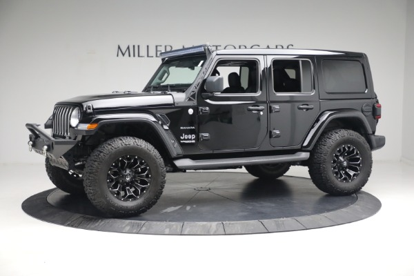 Used 2020 Jeep Wrangler Unlimited Sahara for sale Sold at McLaren Greenwich in Greenwich CT 06830 3