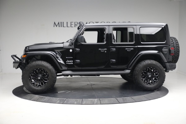 Used 2020 Jeep Wrangler Unlimited Sahara for sale Sold at McLaren Greenwich in Greenwich CT 06830 4