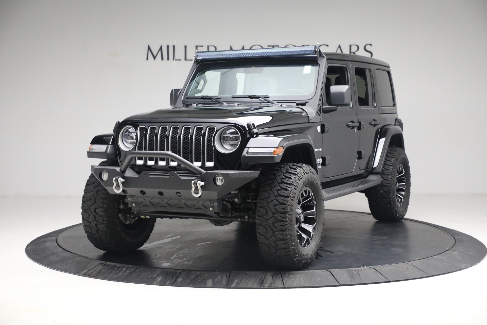 Used 2020 Jeep Wrangler Unlimited Sahara for sale Sold at McLaren Greenwich in Greenwich CT 06830 1