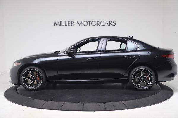 New 2022 Alfa Romeo Giulia Veloce for sale $52,045 at McLaren Greenwich in Greenwich CT 06830 3