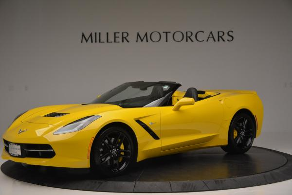 Used 2014 Chevrolet Corvette Stingray Z51 for sale Sold at McLaren Greenwich in Greenwich CT 06830 2