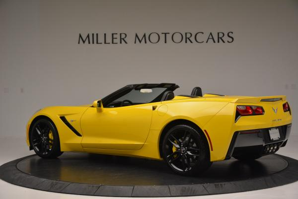 Used 2014 Chevrolet Corvette Stingray Z51 for sale Sold at McLaren Greenwich in Greenwich CT 06830 4