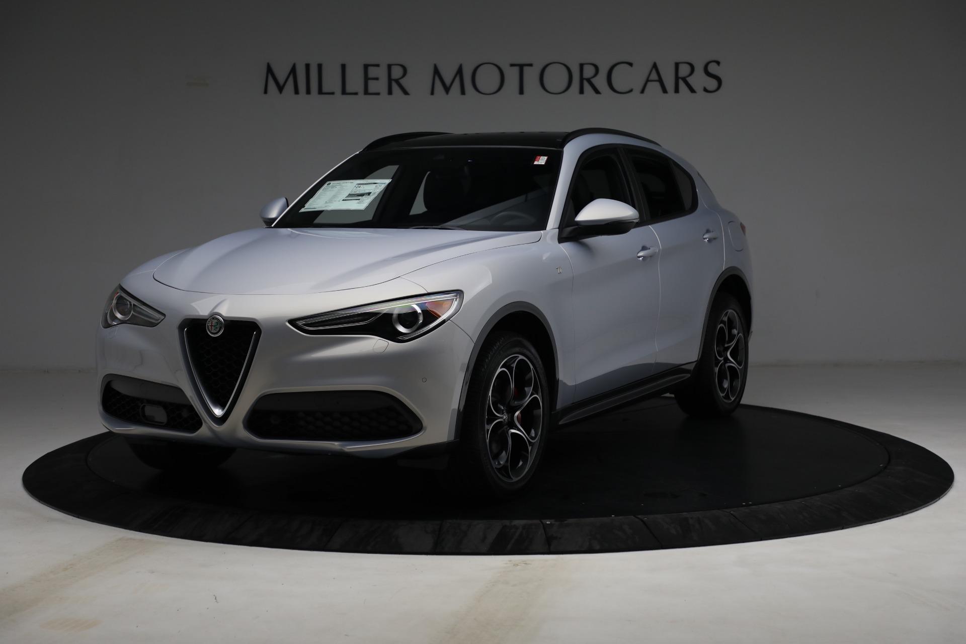 New 2022 Alfa Romeo Stelvio Ti for sale $55,805 at McLaren Greenwich in Greenwich CT 06830 1