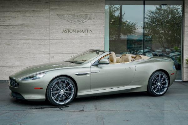 Used 2015 Aston Martin DB9 Volante for sale $119,990 at McLaren Greenwich in Greenwich CT 06830 2
