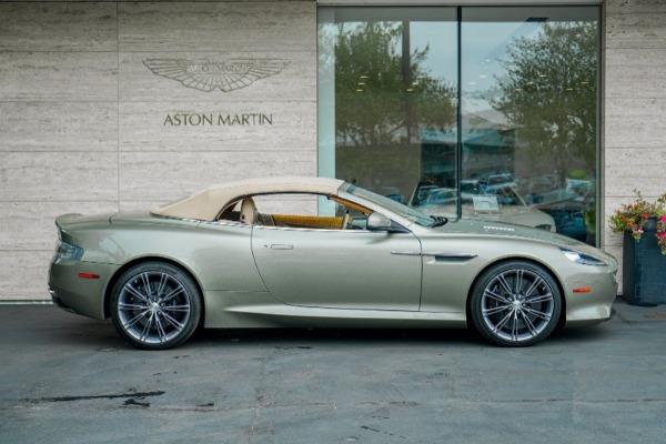Used 2015 Aston Martin DB9 Volante for sale $119,990 at McLaren Greenwich in Greenwich CT 06830 3