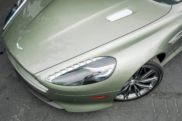 Used 2015 Aston Martin DB9 Volante for sale $119,990 at McLaren Greenwich in Greenwich CT 06830 4