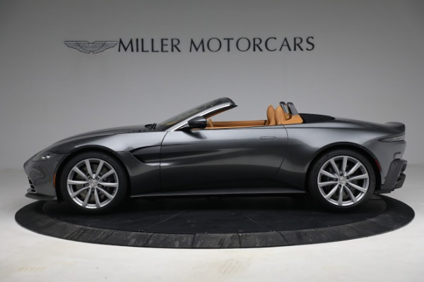 New 2021 Aston Martin Vantage Roadster for sale $174,586 at McLaren Greenwich in Greenwich CT 06830 2