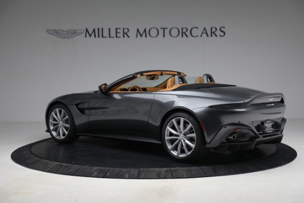 New 2021 Aston Martin Vantage Roadster for sale $174,586 at McLaren Greenwich in Greenwich CT 06830 3