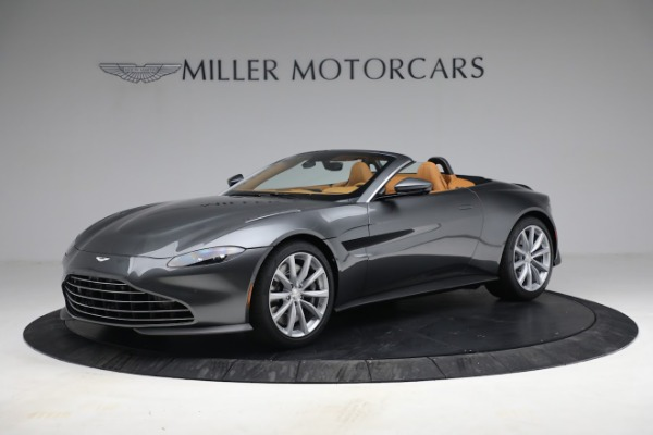 New 2021 Aston Martin Vantage Roadster for sale $174,586 at McLaren Greenwich in Greenwich CT 06830 1