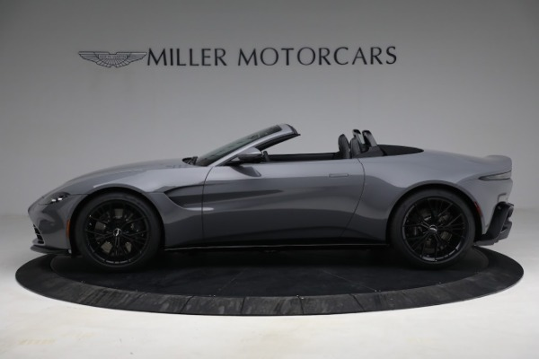 New 2021 Aston Martin Vantage Roadster for sale $180,286 at McLaren Greenwich in Greenwich CT 06830 2