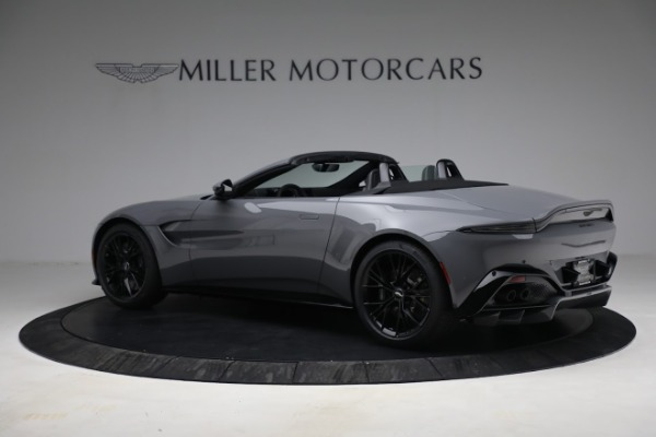 New 2021 Aston Martin Vantage Roadster for sale $180,286 at McLaren Greenwich in Greenwich CT 06830 3