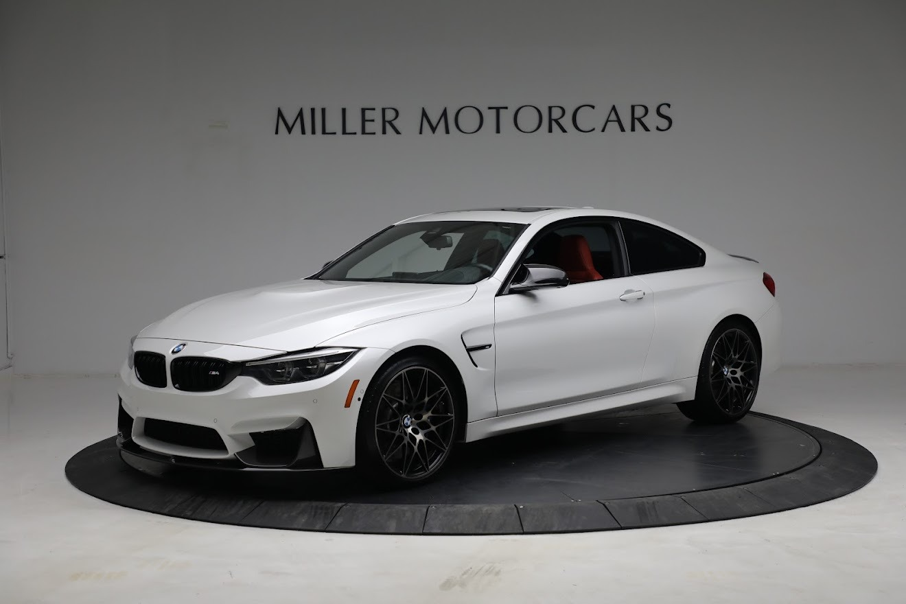 Used 2019 BMW M4 for sale $71,900 at McLaren Greenwich in Greenwich CT 06830 1