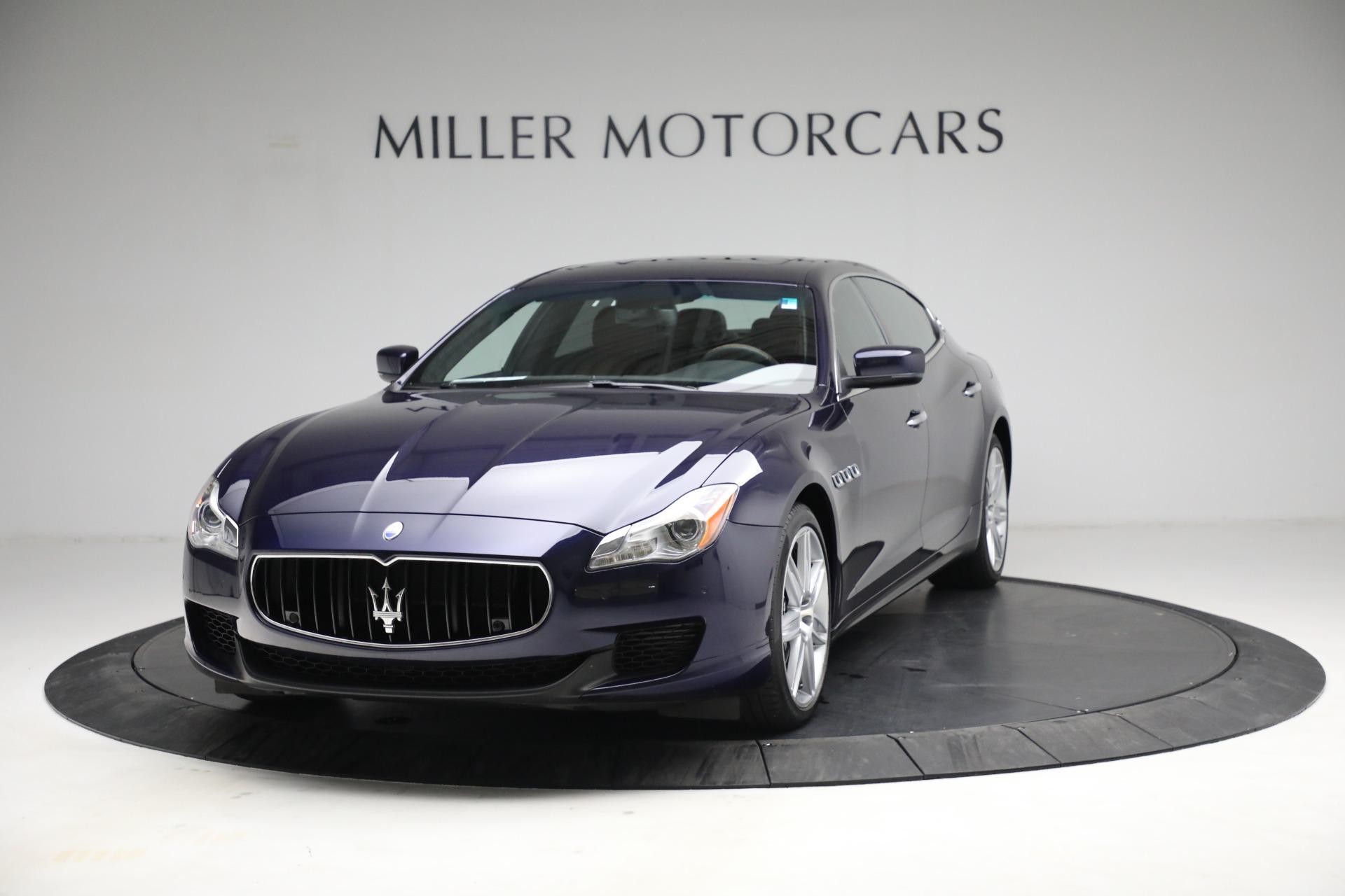 Used 2014 Maserati Quattroporte S Q4 for sale $42,900 at McLaren Greenwich in Greenwich CT 06830 1