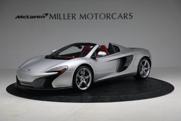Used 2015 McLaren 650S Spider for sale $179,990 at McLaren Greenwich in Greenwich CT 06830 1