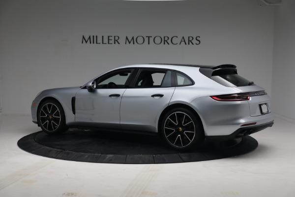 Used 2018 Porsche Panamera 4 Sport Turismo for sale $97,900 at McLaren Greenwich in Greenwich CT 06830 4