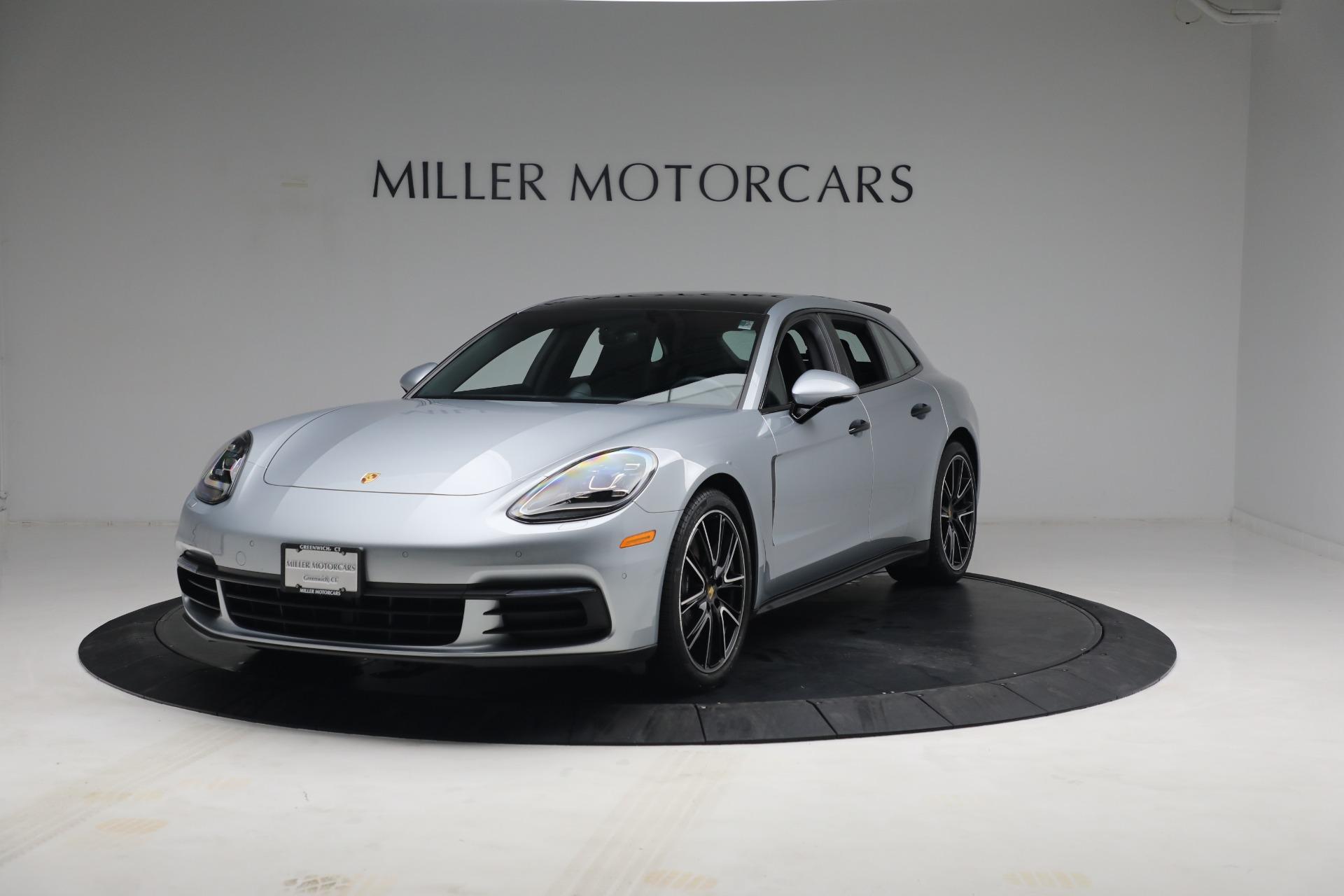 Used 2018 Porsche Panamera 4 Sport Turismo for sale $97,900 at McLaren Greenwich in Greenwich CT 06830 1
