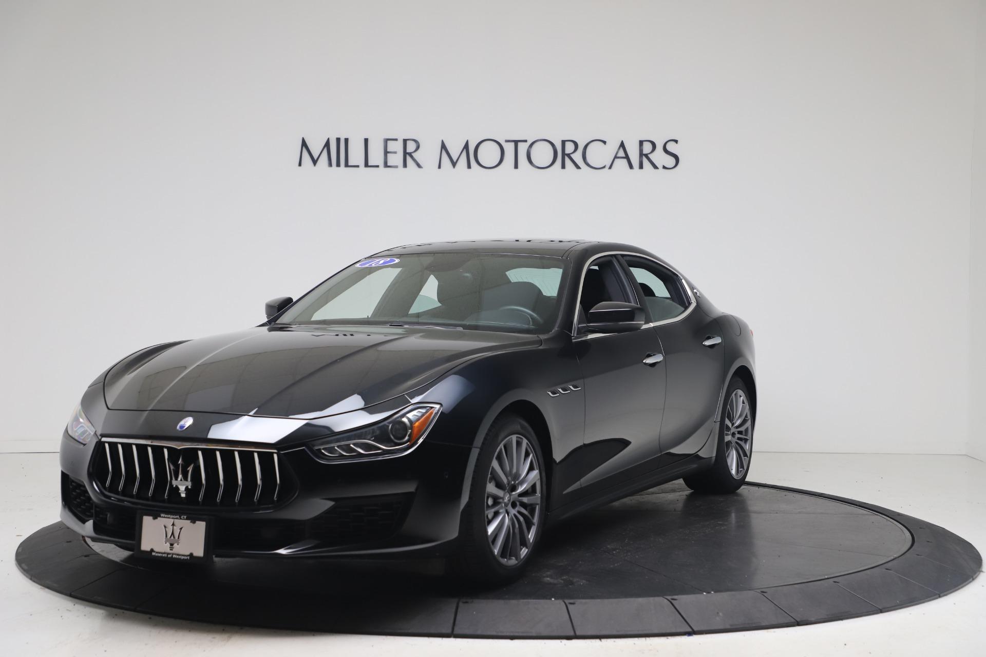 Used 2018 Maserati Ghibli SQ4 for sale $54,900 at McLaren Greenwich in Greenwich CT 06830 1