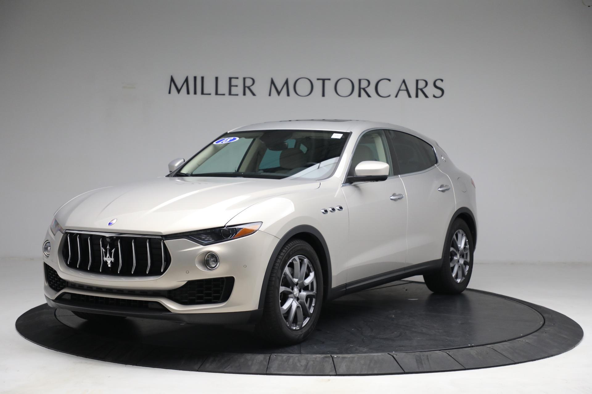 Used 2018 Maserati Levante for sale $57,900 at McLaren Greenwich in Greenwich CT 06830 1