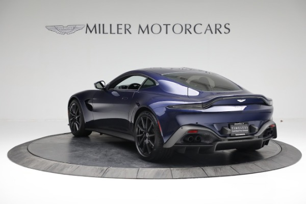 Used 2020 Aston Martin Vantage for sale $139,900 at McLaren Greenwich in Greenwich CT 06830 4