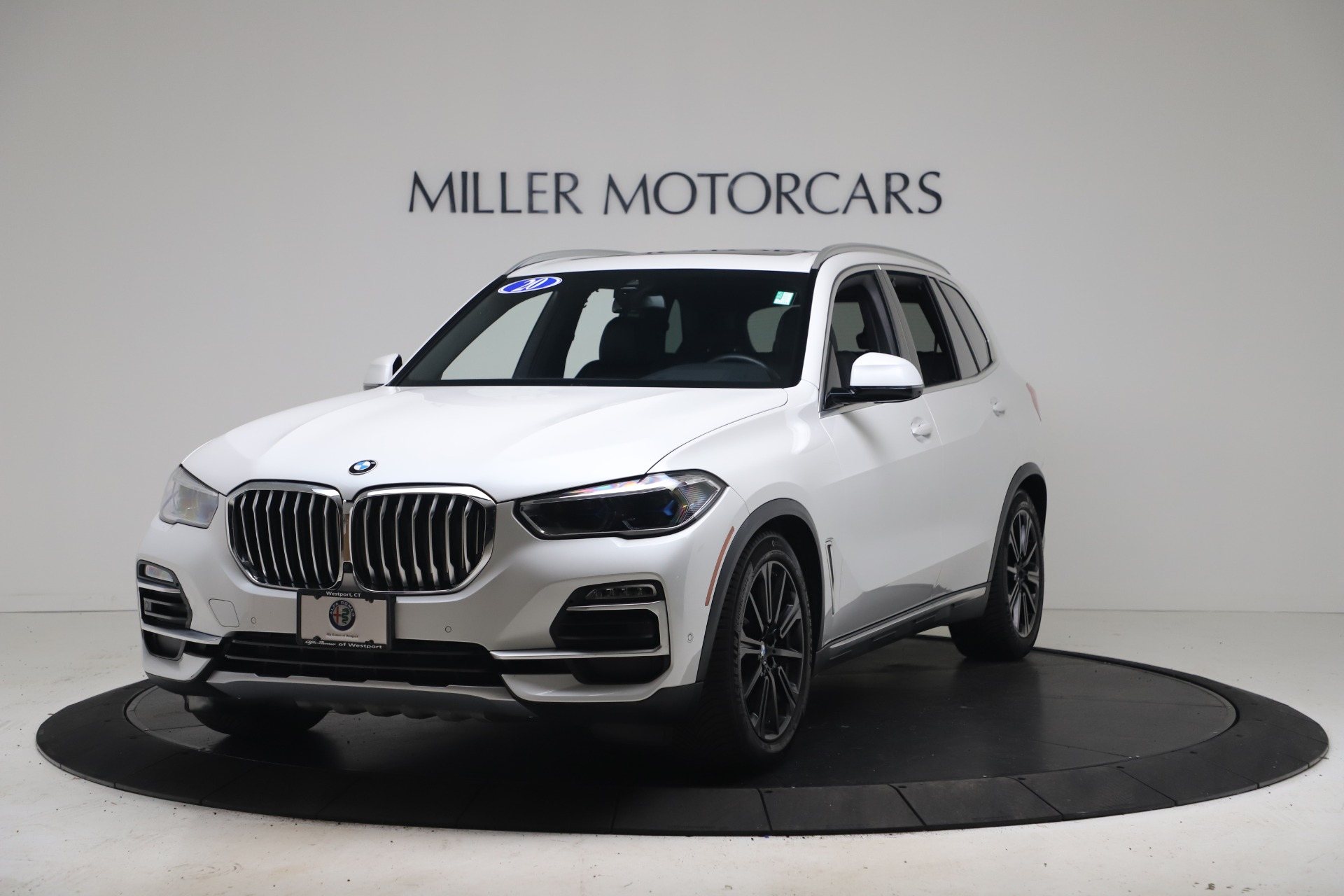 Used 2020 BMW X5 xDrive40i for sale $61,900 at McLaren Greenwich in Greenwich CT 06830 1