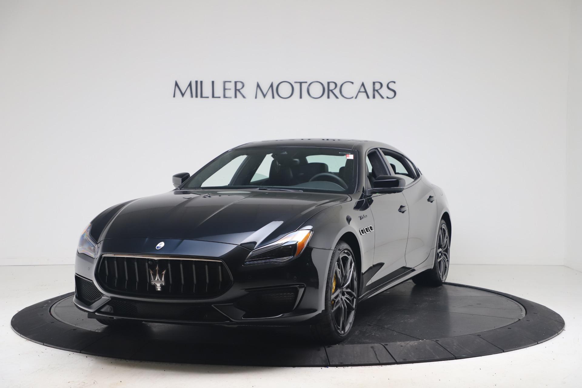 New 2022 Maserati Quattroporte Modena Q4 for sale $131,195 at McLaren Greenwich in Greenwich CT 06830 1