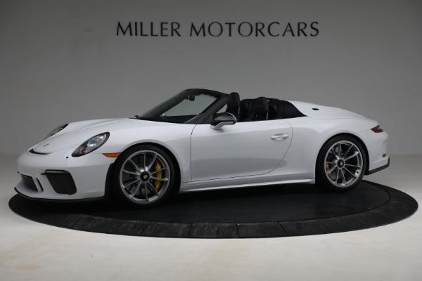 Used 2019 Porsche 911 Speedster for sale $395,900 at McLaren Greenwich in Greenwich CT 06830 2