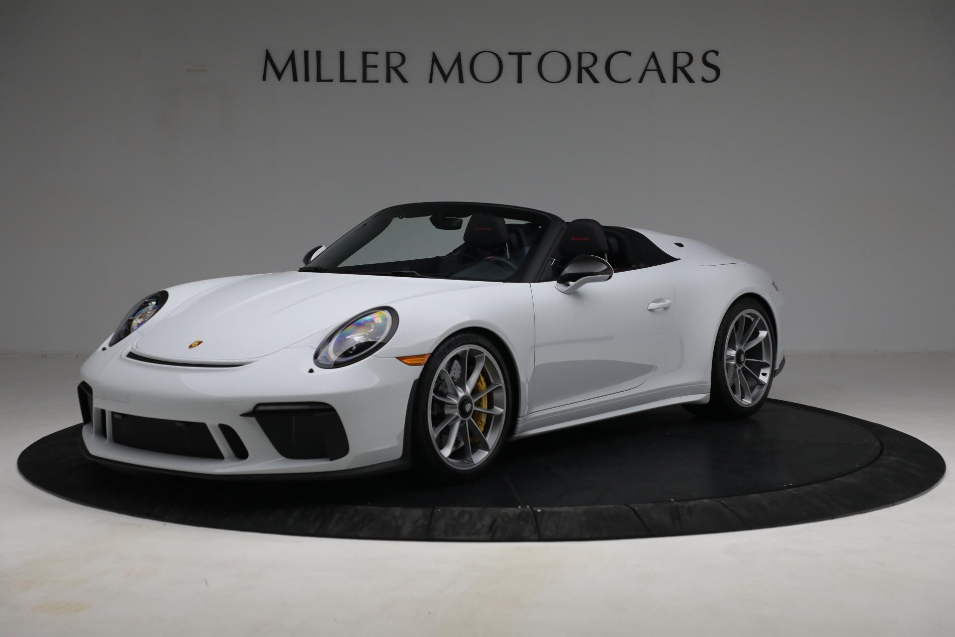 Used 2019 Porsche 911 Speedster for sale $395,900 at McLaren Greenwich in Greenwich CT 06830 1