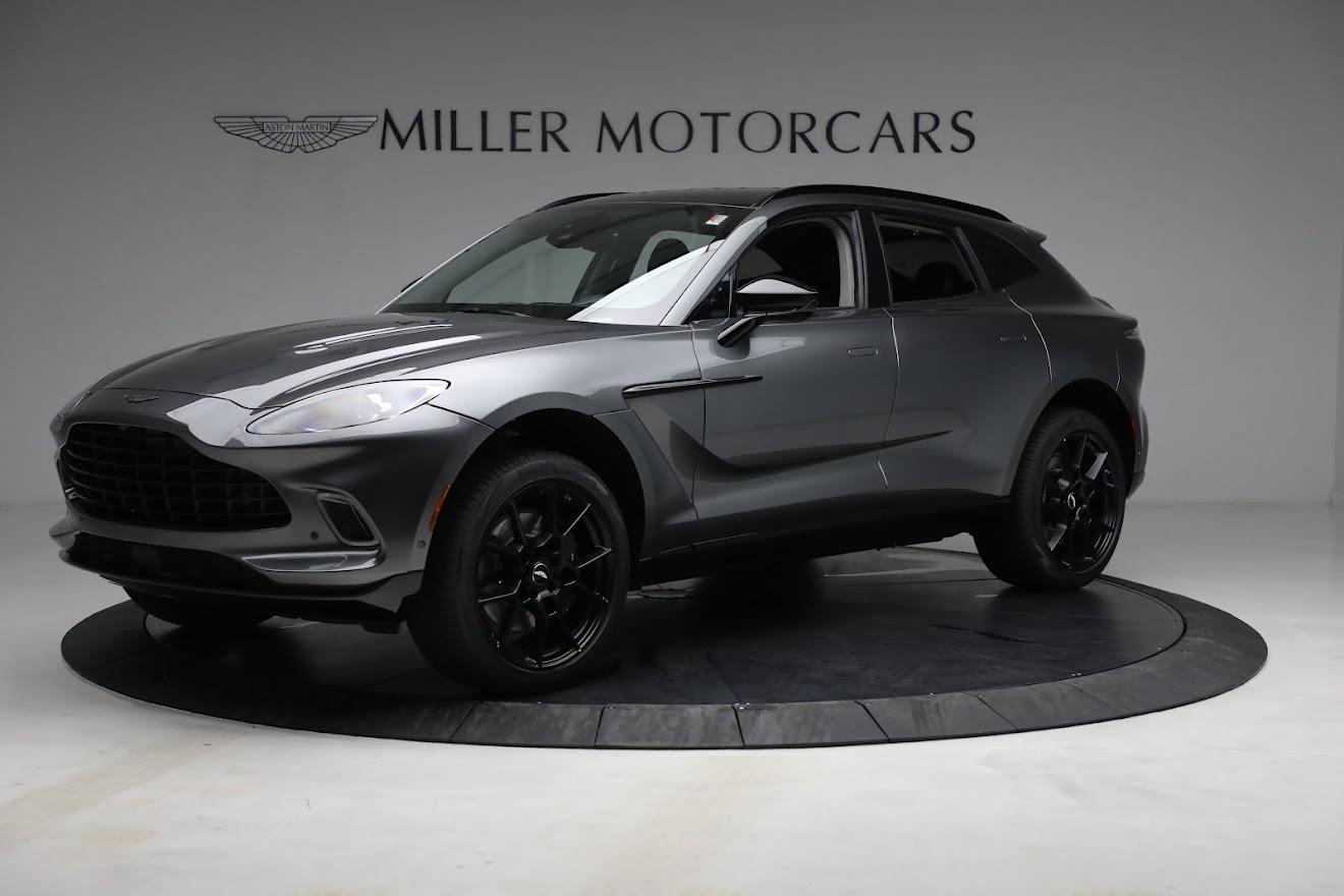 New 2021 Aston Martin DBX for sale $202,286 at McLaren Greenwich in Greenwich CT 06830 1