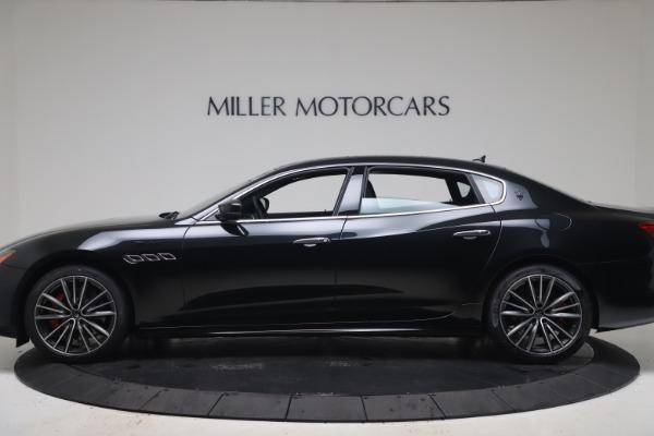 New 2022 Maserati Quattroporte Modena Q4 for sale $128,775 at McLaren Greenwich in Greenwich CT 06830 3