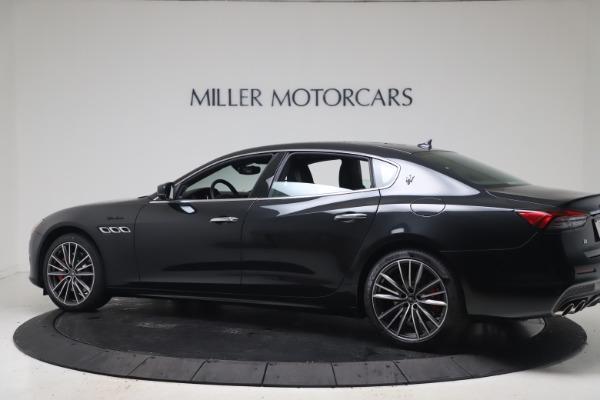 New 2022 Maserati Quattroporte Modena Q4 for sale $128,775 at McLaren Greenwich in Greenwich CT 06830 4
