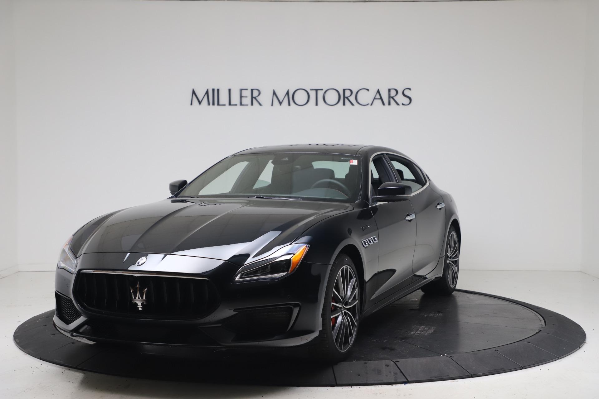 New 2022 Maserati Quattroporte Modena Q4 for sale $128,775 at McLaren Greenwich in Greenwich CT 06830 1